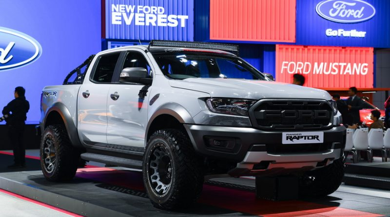 Ford Ranger Raptor Hamer Open