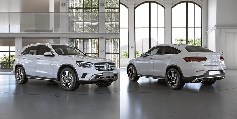 Mercedes-Benz GLC และ GLC Coupé