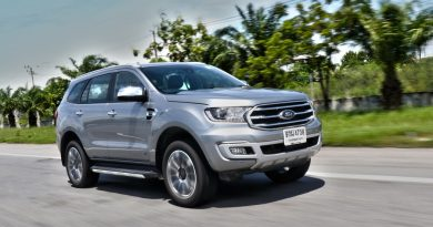 Ford Everest Titaniam Plus Pic Open